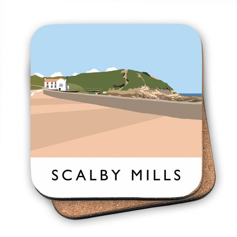 Scalby Mills, Yorkshire MDF Coaster