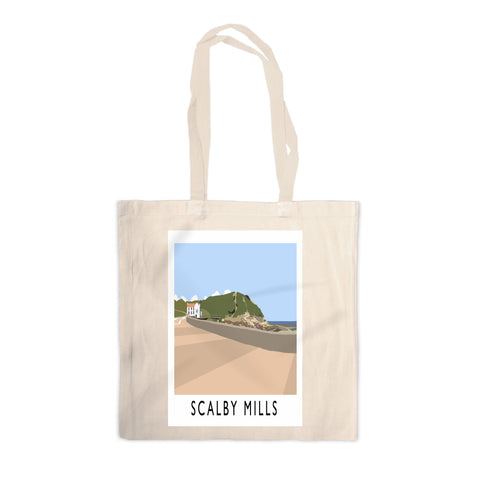 Scalby Mills, Yorkshire Canvas Tote Bag