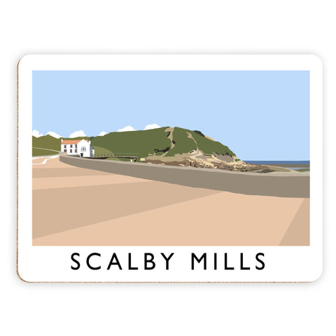 Scalby Mills, Yorkshire Placemat