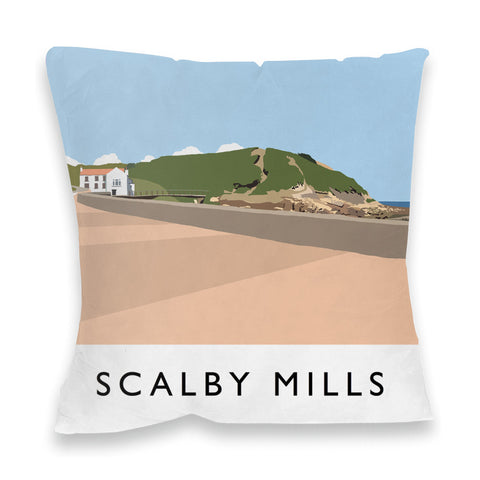 Scalby Mills, Yorkshire Fibre Filled Cushion