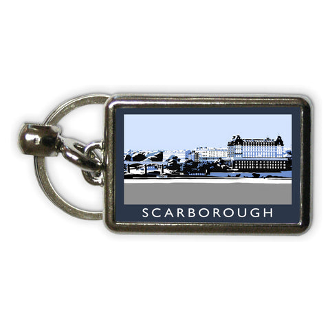Scarborough, Yorkshire Metal Keyring