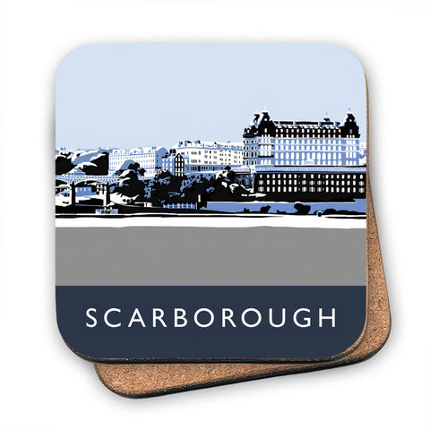 Scarborough, Yorkshire MDF Coaster