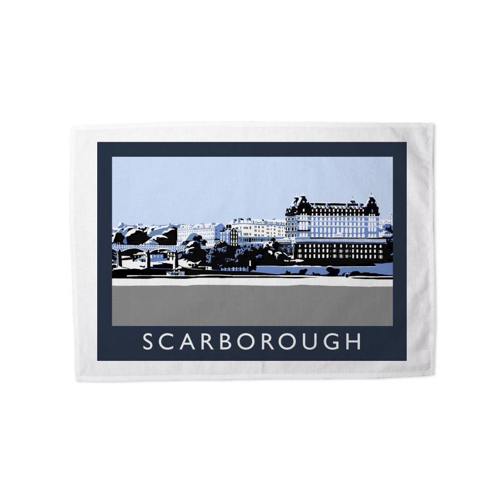 Scarborough, Yorkshire Tea Towel