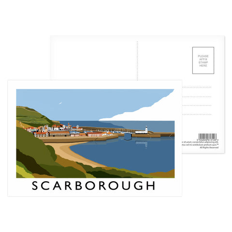 Scarborough, Yorkshire Postcard Pack