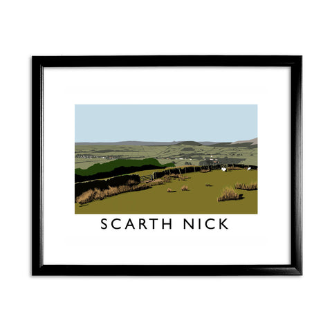 Scarth Mick, Yorkshire 11x14 Framed Print (Black)