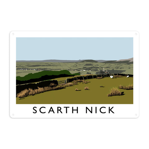 Scarth Mick, Yorkshire Metal Sign