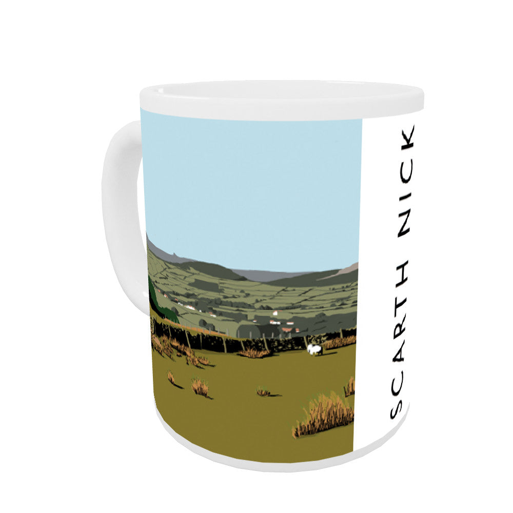 Scarth Mick, Yorkshire Coloured Insert Mug