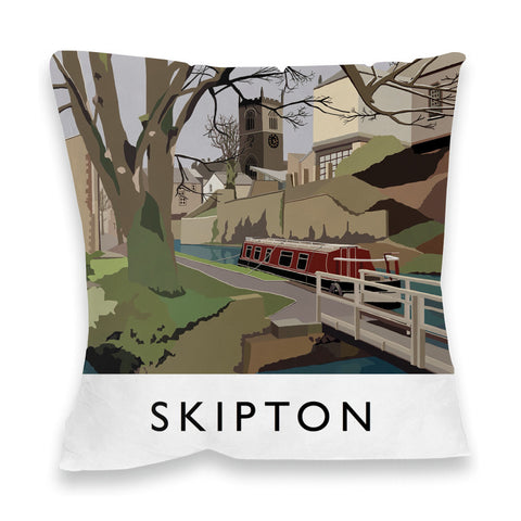 Skipton, Yorkshire Fibre Filled Cushion