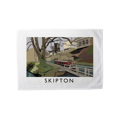 Skipton, Yorkshire Tea Towel