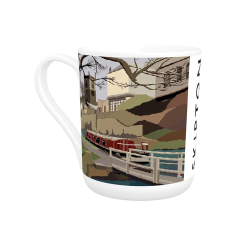 Skipton, Yorkshire Bone China Mug