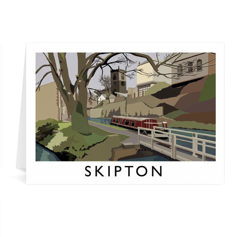 Skipton, Yorkshire Greeting Card 7x5