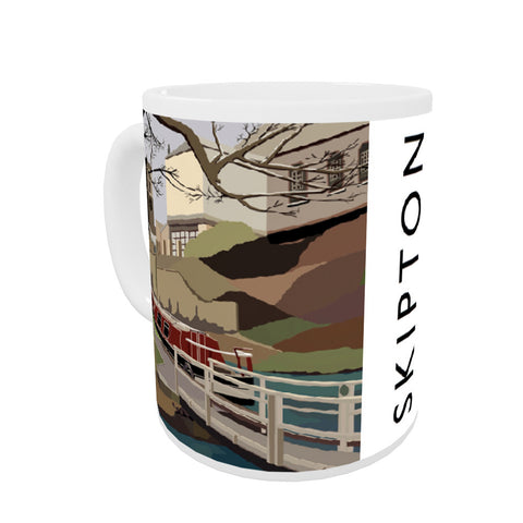 Skipton, Yorkshire Coloured Insert Mug