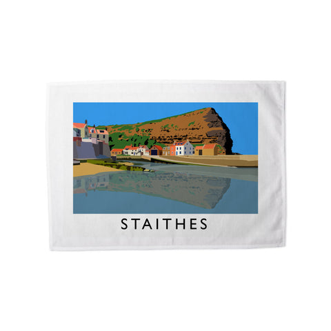 Staithes, Yorkshire Tea Towel