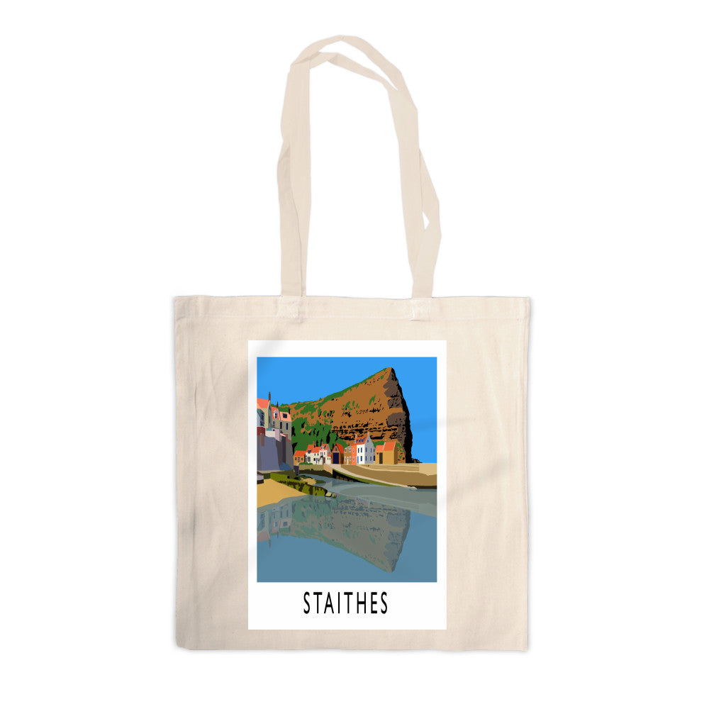 Staithes, Yorkshire Canvas Tote Bag