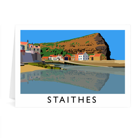 Staithes, Yorkshire Greeting Card 7x5