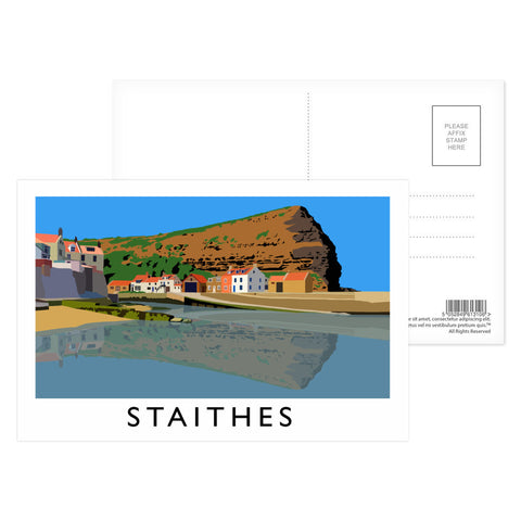 Staithes, Yorkshire Postcard Pack