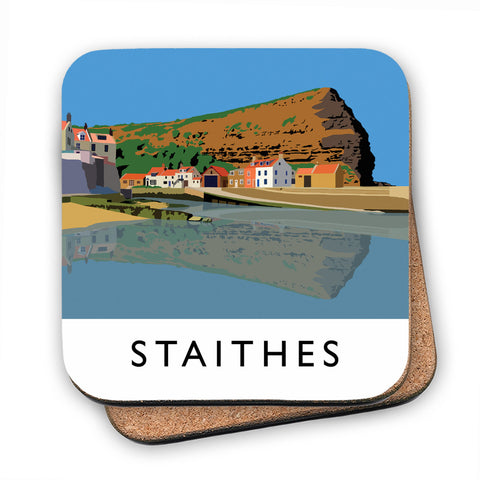Staithes, Yorkshire MDF Coaster
