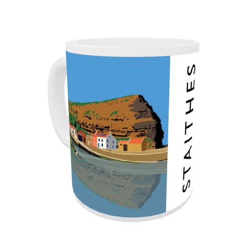 Staithes, Yorkshire Coloured Insert Mug