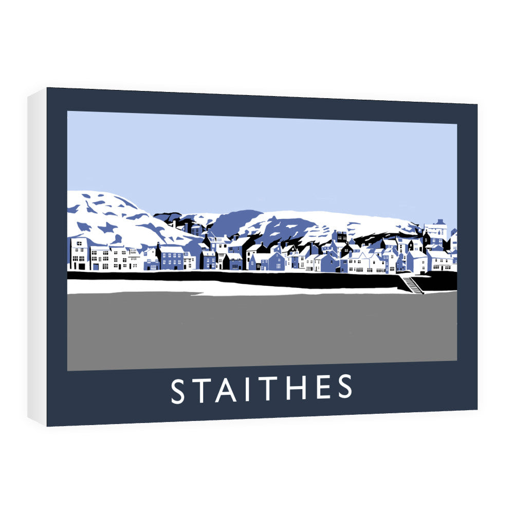 Staithes, Yorkshire Canvas