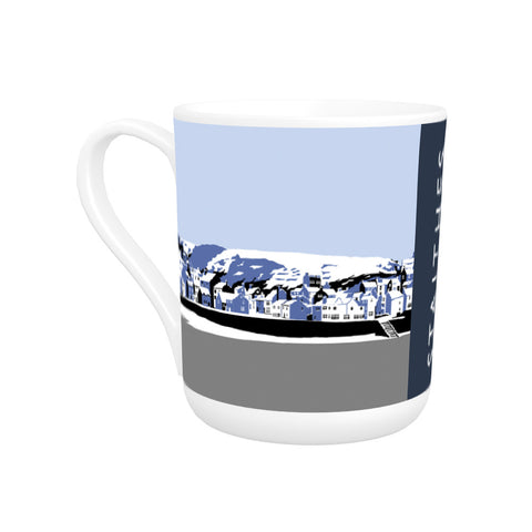 Staithes, Yorkshire Bone China Mug