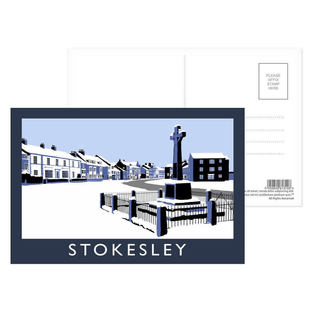 Stokesley, Yorkshire Postcard Pack