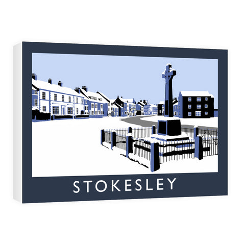 Stokesley, Yorkshire Canvas