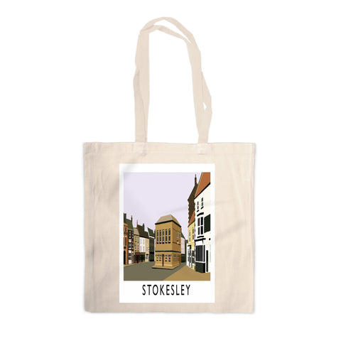 Stokesley, Yorkshire Canvas Tote Bag