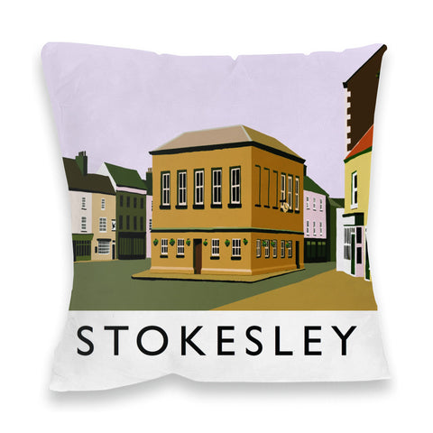 Stokesley, Yorkshire Fibre Filled Cushion