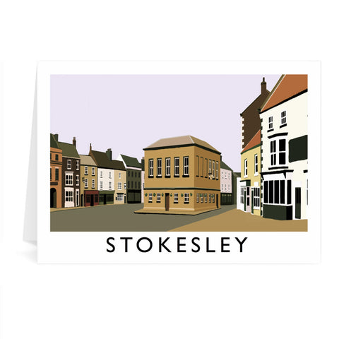 Stokesley, Yorkshire Greeting Card 7x5