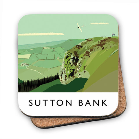 Sutton Bank, Yorkshire MDF Coaster