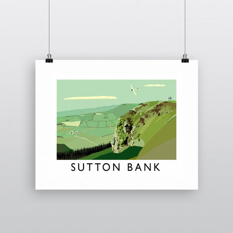 Sutton Bank, Yorkshire Fine Art Print