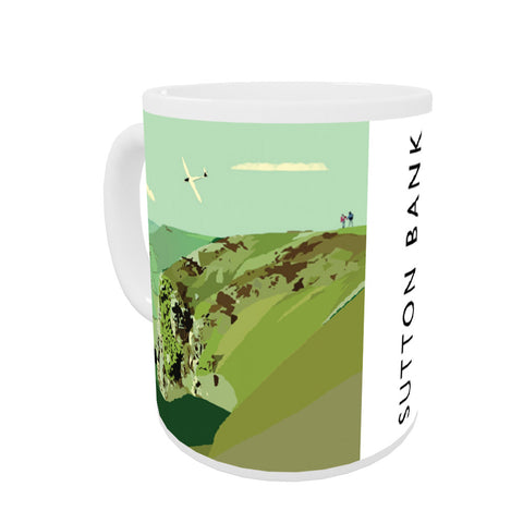 Sutton Bank, Yorkshire Coloured Insert Mug