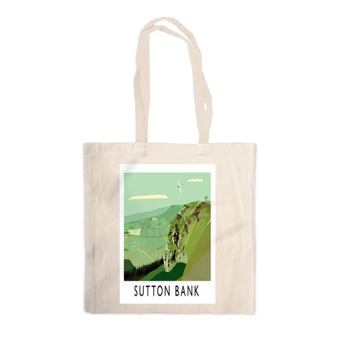 Sutton Bank, Yorkshire Canvas Tote Bag