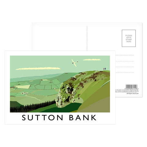 Sutton Bank, Yorkshire Postcard Pack