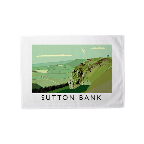 Sutton Bank, Yorkshire Tea Towel