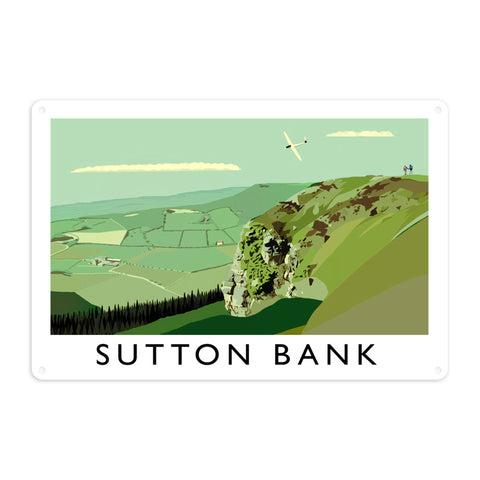 Sutton Bank, Yorkshire Metal Sign