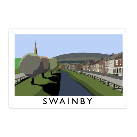 Swainby, Yorkshire Metal Sign
