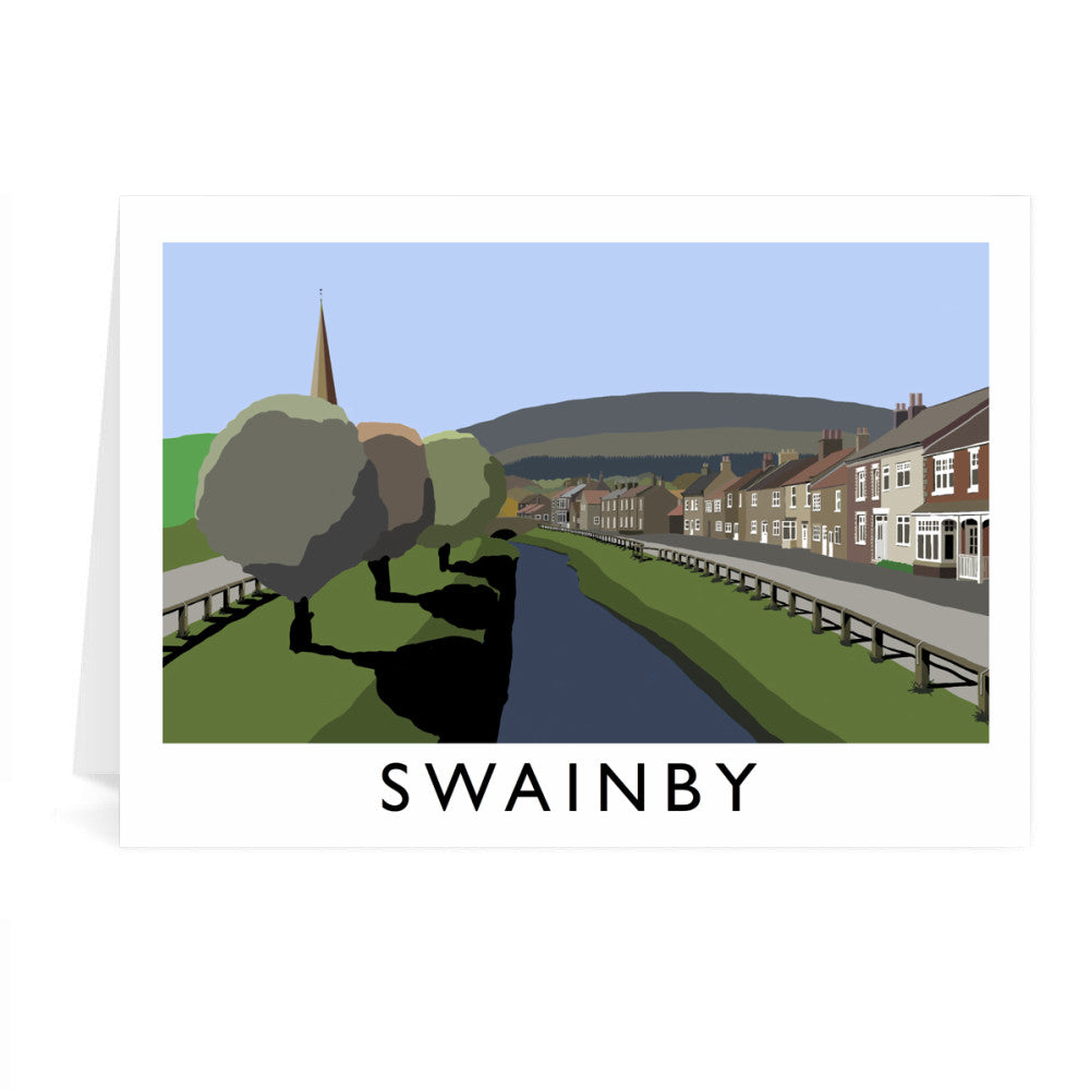 Swainby, Yorkshire Greeting Card 7x5