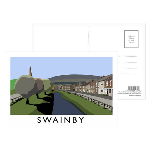 Swainby, Yorkshire Postcard Pack