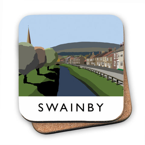 Swainby, Yorkshire MDF Coaster