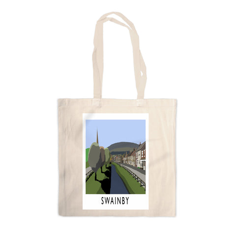 Swainby, Yorkshire Canvas Tote Bag