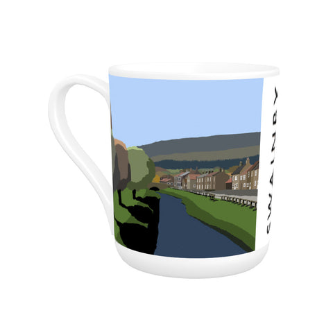 Swainby, Yorkshire Bone China Mug