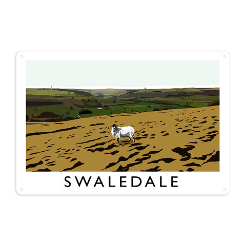 Swaledale, Yorkshire Metal Sign