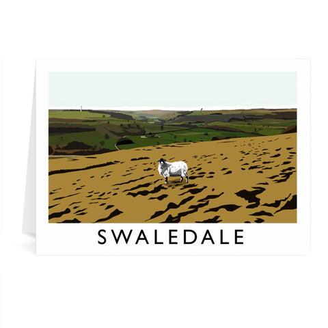 Swaledale, Yorkshire Greeting Card 7x5