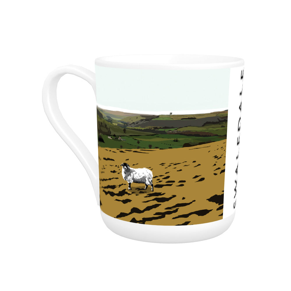 Swaledale, Yorkshire Bone China Mug