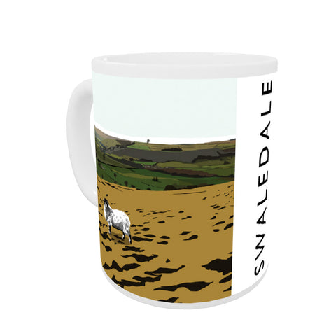 Swaledale, Yorkshire Coloured Insert Mug