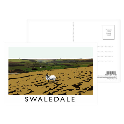 Swaledale, Yorkshire Postcard Pack