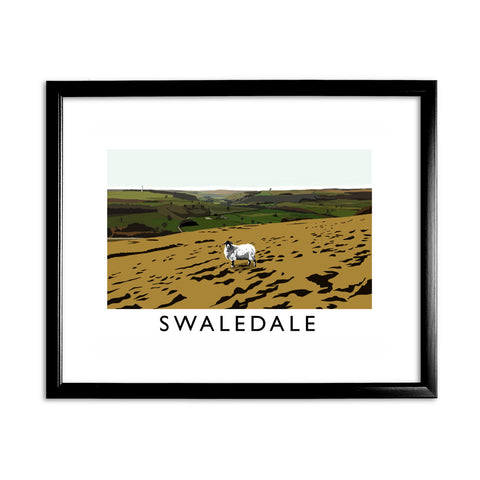 Swaledale, Yorkshire 11x14 Framed Print (Black)