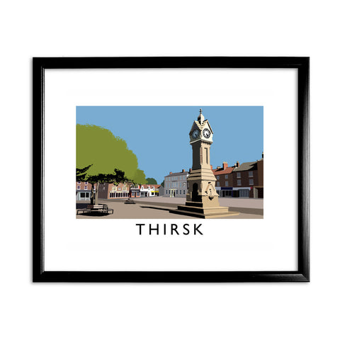 Thirsk, Yorkshire 11x14 Framed Print (Black)