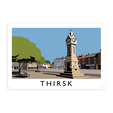 Thirsk, Yorkshire Metal Sign